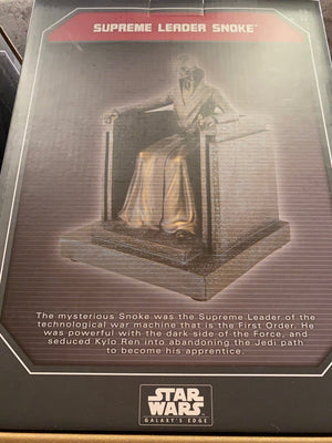 Disney Parks Star Wars Galaxy's Edge Supreme Leader Snoke Figurine New with Box