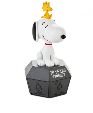 Hallmark Peanuts 70 Years of Snoopy Woodstock Limited Figurine New with Tag