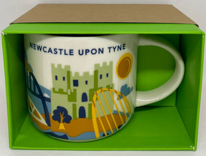 Starbucks You Are Here Collection Newcastle Upon Tyne Coffee Mug New With Box