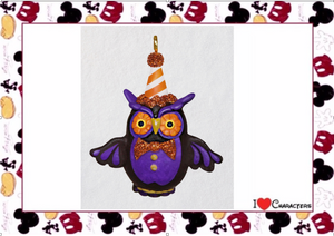 Hallmark Lil' Hoot Owl Halloween Mini Ornament New with Box
