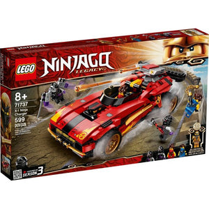 Lego 71737 NINJAGO Legacy X-1 Ninja Charger Building Toy New with Sealed Box