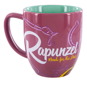 Disney Parks Princess Rapunzel Portrait Ceramic Coffee Mug New