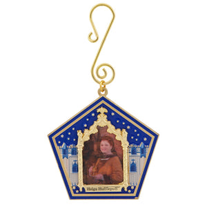 Universal Studios Harry Potter Helga Hufflepuff Wizard Card Ornament New w Tag