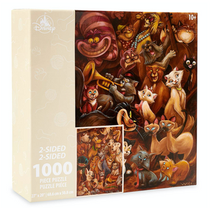 Disney Parks Cats and Dogs Two-Sided 1000pcs Puzzle New with Box