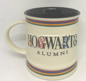 Universal Studios Harry Potter Hogwarts Alumni Ceramic Coffee Mug New