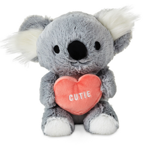 Hallmark Valentine Koala Bear With Cutie Candy Heart Plush New with Tag