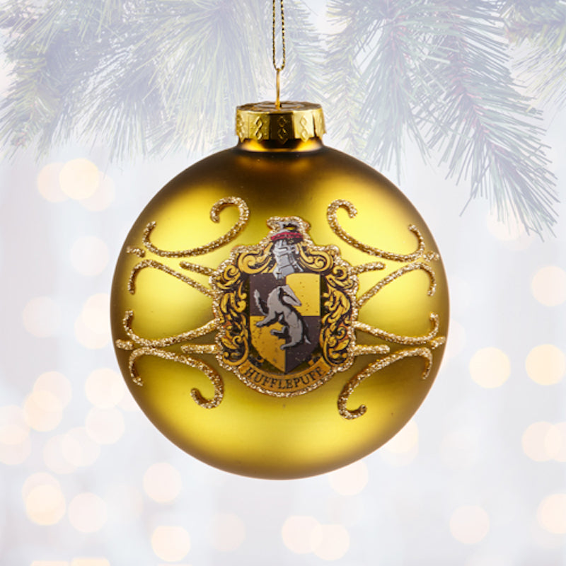 Harry Potter Christmas Ornaments Universal Studios.Universal Studios Harry Potter Hufflepuff Ball Christmas Ornament New With Tags