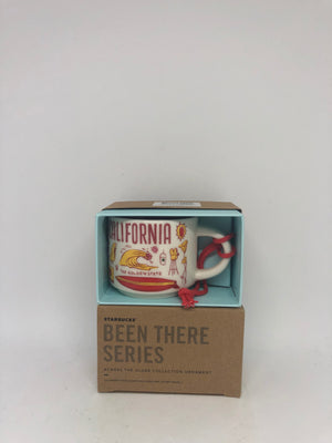 Starbucks Coffee Been There California Ceramic Ornament Espresso Mug New Box