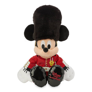 Disney Parks Epcot Mickey Mouse Queen's Guard Plush United Kingdom Small 16''