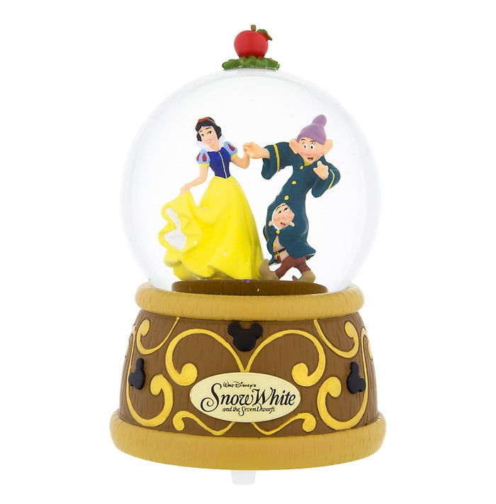 Disney Parks Snow White and Seven Dwarfs Snowglobe New