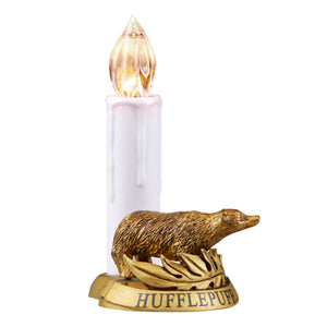 Universal Studios Harry Potter Hufflepuff Clip-On Candle Light Ornament New Box