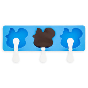 Disney Parks Mickey Silicone Popsicle Mold Set New with Box
