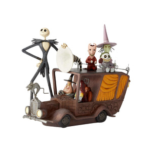 Disney Jim Shore Nightmare Before Christmas Mayor Car Figurine New with Box