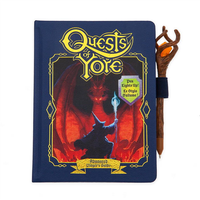 Disney Store Onward Quests of Yore Replica Journal and Pen Set New