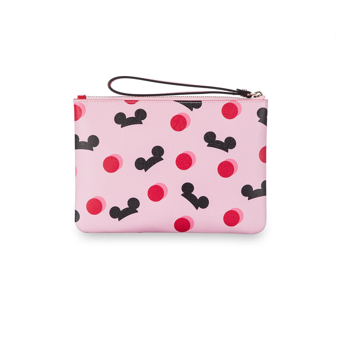 sports shoes 571f6 5e97d Disney Mickey Mouse Ear Hat Pouch Duo Pink Black Kate Spade New York New w  Tag