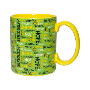 Department 56 Grinch Expressions Coffee Mug New with Box