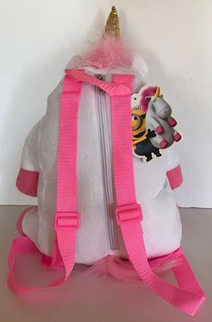 Universal Studios Despicable Me Unicorn Soft Plush Backpack New with Tag