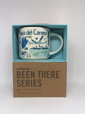Starbucks Been There Series Playa del Carmen Mexico Ceramic Coffee Mug New