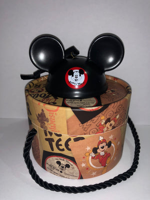 Disney Parks Mickey Mouse Mouseketeer Ear Hat Ornament New with Box