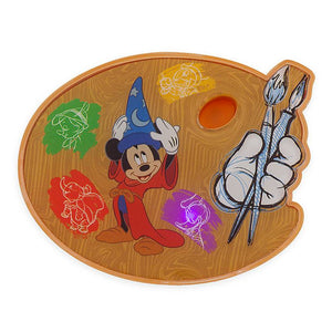 Disney Ink & Paint Mickey Sorcerer Pinocchio Dumbo Donald Light Up Magnet New