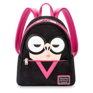 Disney Parks The Incredibles Edna Mode Mini Backpack New with Tag