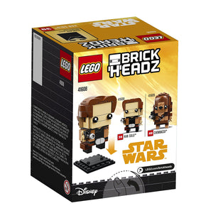 Lego 41608 BrickHeadz Star Wars Han Solo 141 Pieces New Box Sealed