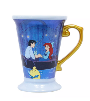 Disney The Little Mermaid Ariel and Eric Sha-la-la-la-la-la My Oh My Mug New