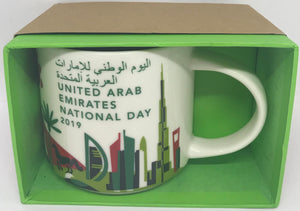 Starbucks You Are Here United Arab Emirates National Day 2019 Ceramic Coffee Mug