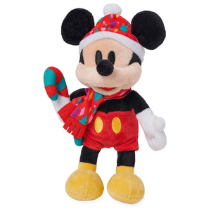 Disney Mickey Chear Holiday Mini Bean Bag Plush New with Tags