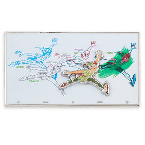Disney Parks Ink & Paint Peter Pan Pin New with Card