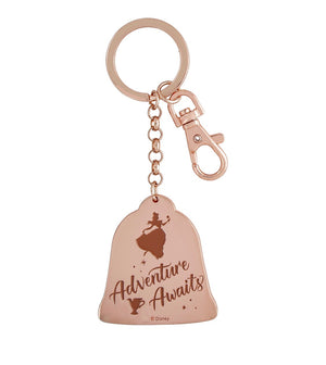 Disney Parks Beauty and the Beast Belle Adventure Awaits Keychain New with Tags