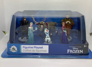Disney Frozen Elsa Anna Sven Figure Play Set Cake Topper New with Box