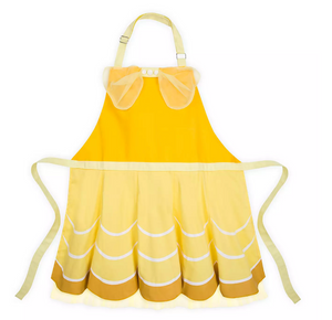 Disney Parks Beauty and the Beast Adult Kitchen Apron Belle New with Tags
