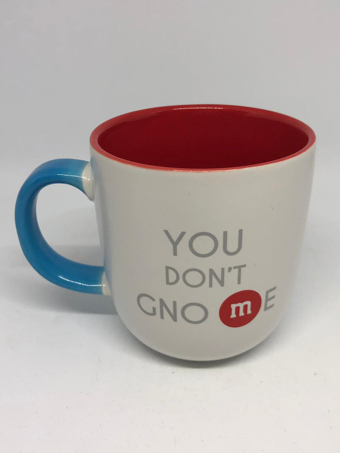 M&M's World You Don't Gnome Ceramic Coffee Mug New