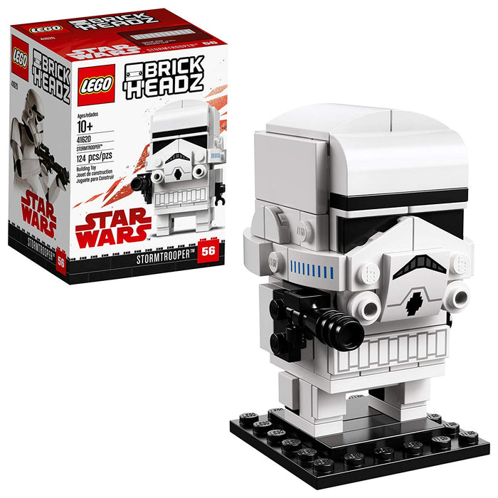 Lego 41620 BrickHeadz Star Wars Stormtrooper 124 Pieces New with Box