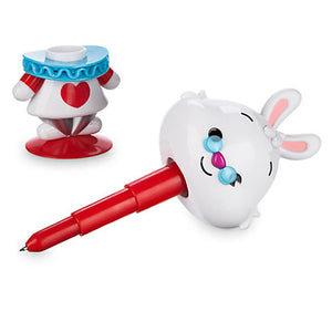 Disney Dstyle MXYZ Alice in Wonderland White Rabbit Figural Pen New with Box