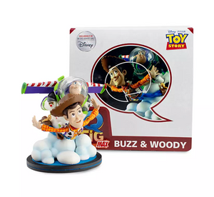 Disney Toy story 25th Woody and Buzz Q-Fig Max by QMx Figurine New with Box
