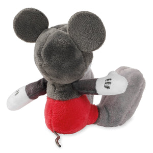 Disney Mickey Mouse Tiny Big Feet Plush Micro Limited Release Gray New With Tags