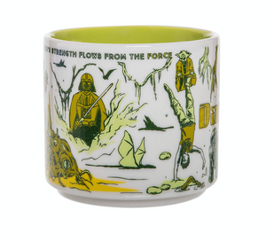 Disney Starbucks Been There Star Wars Dagobah Ceramic Coffee Mug New with Box