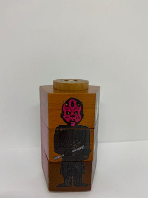 Disney Parks Star Wars Galaxy's Edge Wooden Game Darth Vader Maul Stormtrooper