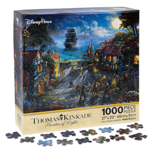 Disney Parks Pirates of the Caribbean Black Pearl Puzzle Kinkade New with Box