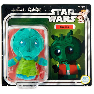Hallmark Star Wars A New Hope Greedo Limited Itty Bittys Plush New with Card