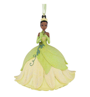 Disney Parks Tiana with the Frog 3D Glitter Christmas Ornament New with Tags