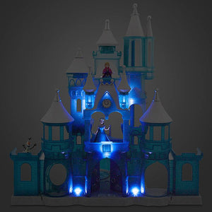 Disney Parks Frozen Holiday Wish Walt Disney World Castle Play Set New with Box