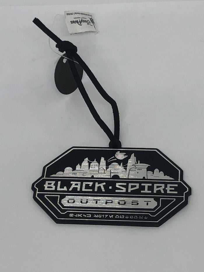 Disney Parks Star Wars Galaxy's Edge Black Spire Outpost Metal Ornament New