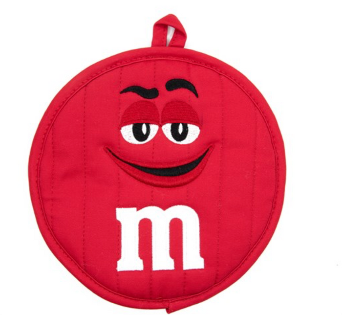 M&M's World Red Character Pot Holder New with Tag