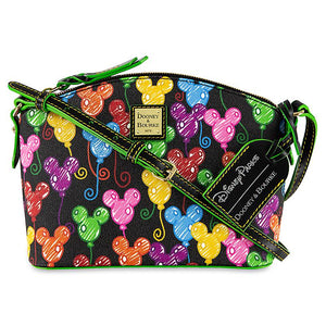 Disney Parks Mickey Mouse Balloons Crossbody Bag Dooney & Bourke 10th Ann New