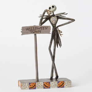 Disney Jim Shore Traditions Jack Skellington Resin Figurine New with Box