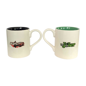 DC Comics by Our Name Is Mud Harley Quinn Joker Mug Set New with Box