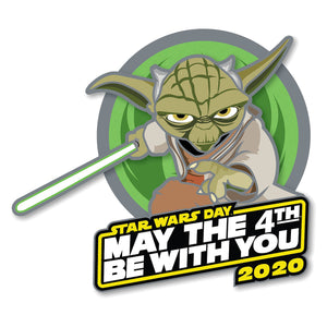 Disney Yoda May the 4th Be With You 2020 Pin Star Wars Day Limited New